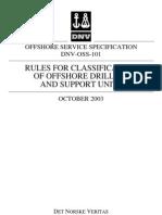 DNV-OSS-101-2003