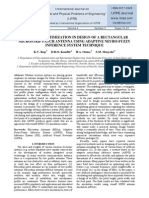 PARAMETER OPTIMIZATION IN DESIGN OF A RECTANGULAR MICROSTRIP PATCH ANTENNA USING ADAPTIVE NEURO-FUZZY INFERENCE SYSTEM TECHNIQUE