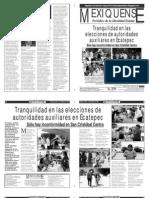 Versión impresa del periódico El mexiquense 25 marzo 2013