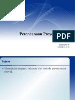 PTI444.05.b - Perencanaan Proyek