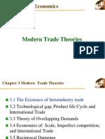 modern trade theories