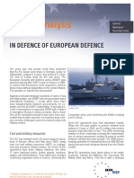 In Defence of European Defence