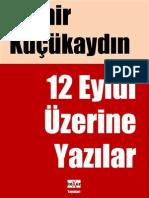 Demir Kucukaydin - 12 Eylul Uzerine Yazilar - V-3.pdf