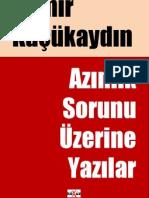 Demir Kucukaydin - Azinlik Sorunu Uzerine Yazilar.pdf