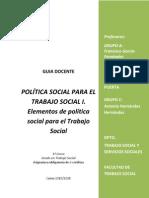Politica Social I