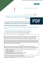 Guidance & Regulations