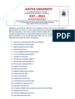 ICet 2013 Instruction Booklet