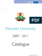 University Catalogue