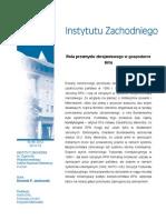 Dominik P. Jankowski - Rola przemysłu zbrojeniowego w gospodarce RFN