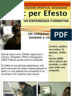 Computer e disabili, corsi Efesto