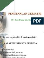 Geriatric Syndrome, Workshop TIG2010
