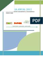 Memoria Fojucc 2012