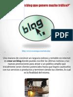 Dónde crear un blog que genere mucho tráfico