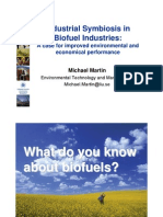 Industrial Symbiosis With Biofuels