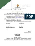 Regulamentul Circulatiei Rutiere din Republica Moldova