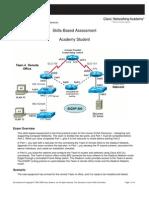 D4 SBA Student sheet