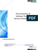 Service Virtualization - The Economics of Software Testing