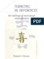 Interpreting Cultural Differences Challenge of Intercultural Communication