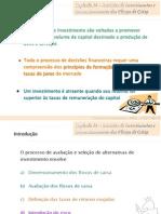 Cap 14 - Decisões de Investimento e Dimensionamento dos Flux