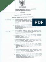 Kepmenkes No.043 Tahun 2007 Pedoman Pengobatan Malaria