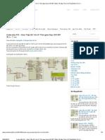 Code mẫu PIC - Giao Tiếp I2C Với IC Thời gian thực DS1307 _ Điện Tử Máy Tính _ Kỹ Thuật Điện Tử _ Vi Xử Lý _ Lập Trình Nhúng _ Công Nghệ Thông Tin