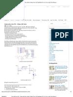Code mẫucho PIC -NháyLED đơn _ Điện Tử Máy Tính _ Kỹ Thuật Điện Tử _ Vi Xử Lý _ Lập Trình Nhúng _ Công Nghệ Thông Tin