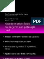 Abordaje Psicologico Del Tept en Mujeres Con Patologia Dual