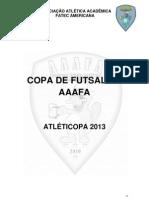 REGULAMENTO FATECOPA 2013