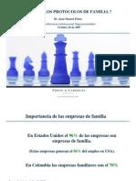 (8)Presentación protocolo de familia (expo diapo). Dr. Juan Manuel Prieto