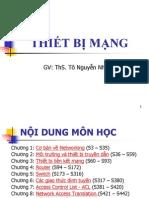 Bai Giang Mon Thiet Bi Mang - 9 Chuong