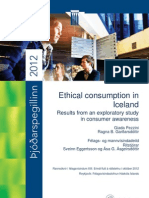 Ethical consumption in Iceland:
