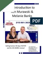 Introduction to Ken Murawski and Melanie Banks w/ Keller Williams Real Estate