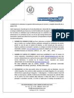 Requerimiento Para Pagina Web