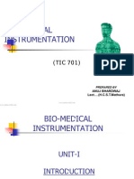 Biomedical-Instrumentation Notes