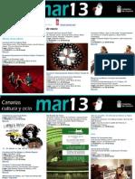 Agenda Cultural Canarias, 25-31 marzo'13