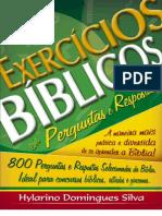 Livro eBook Exercicios Biblicos Em Perguntas e Respostas