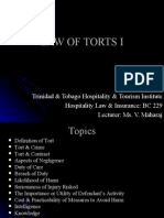 Law of Torts I