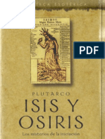 Plutarco - Isis Y Osiris