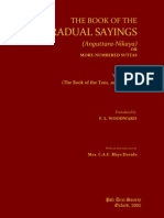 Book of Gradual Sayings [Anguttara-Nikaya] Vol. v (2003). (259p) - Woodward, F.L.; Hare, E.M. (Trs) -