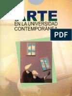 El Arte en la Universidad Contemporánea