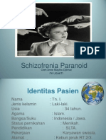 skizofrenia paranoid