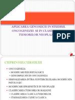 Genomica in Oncogeneza C1