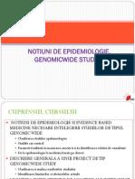 Epidemiologie. Genomic Wide Study