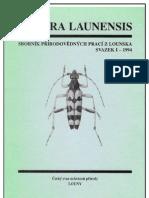Natura Launensis No1