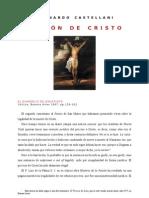 Leonardo Castellani   PASIÓN DE CRISTO