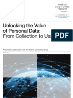 WEF IT UnlockingValuePersonalData CollectionUsage Report 2013