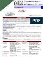 Folleto Fujitsu Fi4750C