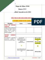 130 Mapa Da Mina Inss Evp PDF 1 Atual Tecnico Da Seguridade Social Fcc Evp