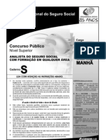 INSS 2008 ANALISTA