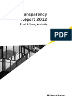 EY Transparency Report 2012